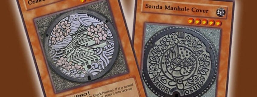 Drainspotting - Japanese Manhole get collectible and spotting cards