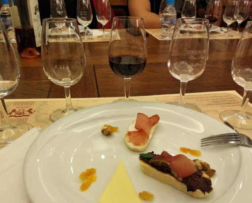 Sample a range of local delicacies and Koshu