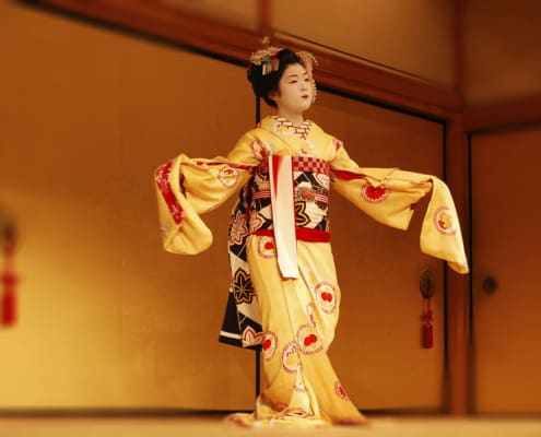 """""""Mai"""" of """"Maiko"""" means dancing"""