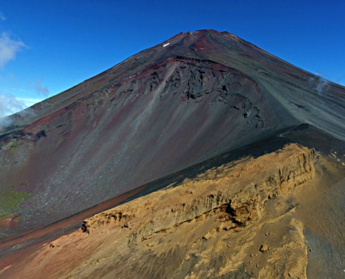Mount Fuji section before 7th station