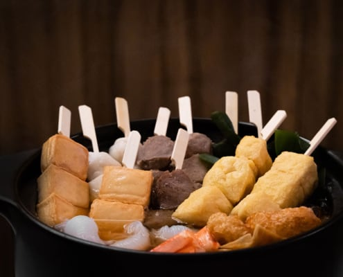 Oden or Japanese one-pot dish