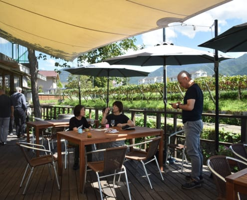 Slow pace tasting in Japan's countryside